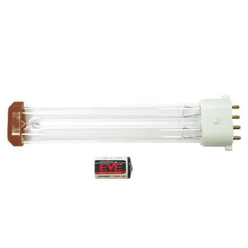 FP024 HyGenikx System Shatterproof Replacement Lamp and Battery Brown Cap HGX-05-O